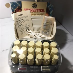 Other - Vintage 1960s GE Hairsetter Hot Rollers